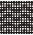 Seamless Black And White ZigZag Halftone vector image vector image