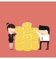 The Business Situation vector image vector image
