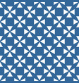 tile pattern with blue and white background vector image vector image