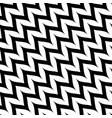 zigzag diagonal chevron seamless pattern curved vector image vector image