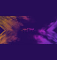 abstract background halftone gradient vector image vector image