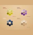 big set of infographics elements eps10 vector image vector image