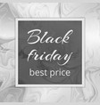 black friday best rates vector image vector image