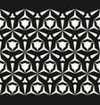 geometric seamless pattern with edgy triangular vector image vector image