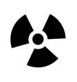 ionizing radiation icon idesign vector image