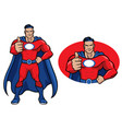 superhero thumb up vector image vector image