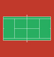 tennis court background eps 1 vector image vector image