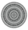 Tribal folk aztec geometric pattern in