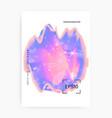 unicorn flyer kawaii rainbow hologram princess vector image vector image
