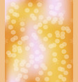 vivid bokeh in golden color background with vector image