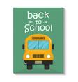 Bus school vehicle transport icon