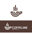 espresso line icon outline symbol pixel perfect vector image