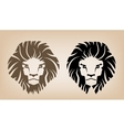 Lion Head Icons vector image