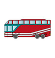 toy bus graphic vector image vector image