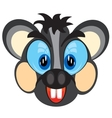Mug animal mouse vector image