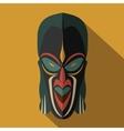 African Ethnic Tribal mask vector image