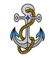 anchor icon heavy metal object for a sea vessel vector image vector image