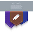 bookmark icon Eps10 vector image