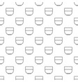 bowl pattern seamless vector image vector image