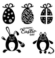 easter miniset vector image vector image