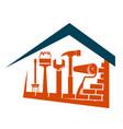 home repair design vector image vector image