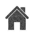 home silhouette black icon vector image
