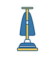 hoover vacuum cleaner vector image