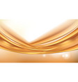 orange golden flowing liquid abstract vector image