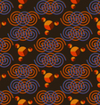 Pattern color spiral vector image