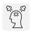 stress pressure icon vector image