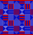 vivid flag abstract seamless pattern vector image