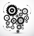 Wheals - Cogs - Gears vector image