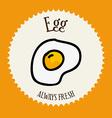 egg design vector image