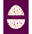 abstract colorful stripes and shapes Easter vector image