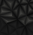 Abstract geometrical black background vector image vector image