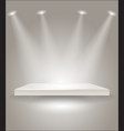 Bright stage with spot lights vector | Price: 1 Credit (USD $1)