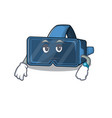 cartoon character design vr virtual reality vector image vector image