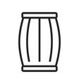 cask icon vector image