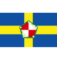 Flag of Pembrokeshire vector image vector image