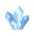 organic mineral crystalic precious stones vector image vector image