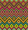 mexican seamless zigzag background vector image