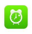 alarm clock retro classic design icon digital vector image vector image