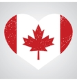 emblem of canada vector image vector image
