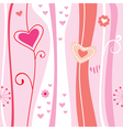 pink abstract romantic background vector image vector image