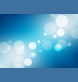 abstract blue gradient background with lights vector image vector image