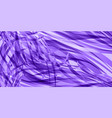 background of flowing purple lines vector image vector image