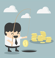 Businessman investment concept vector image vector image