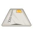 Debit card icon cartoon style vector image vector image