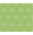 greenery geometric ornament seamless pattern vector image vector image