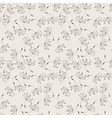 Seamless floral pattern of flying vector image